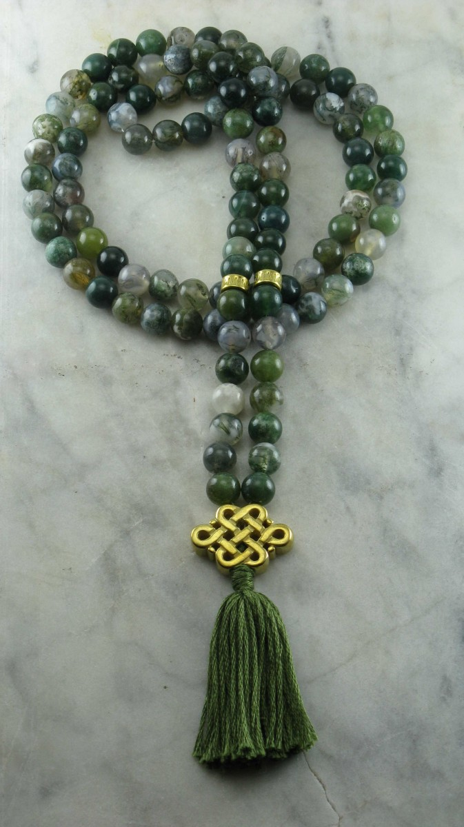 Ayurvedic_Stability_Mala_108_Moss_Agate_Mala_Beads_Buddhist_Prayer_Beads_Vata