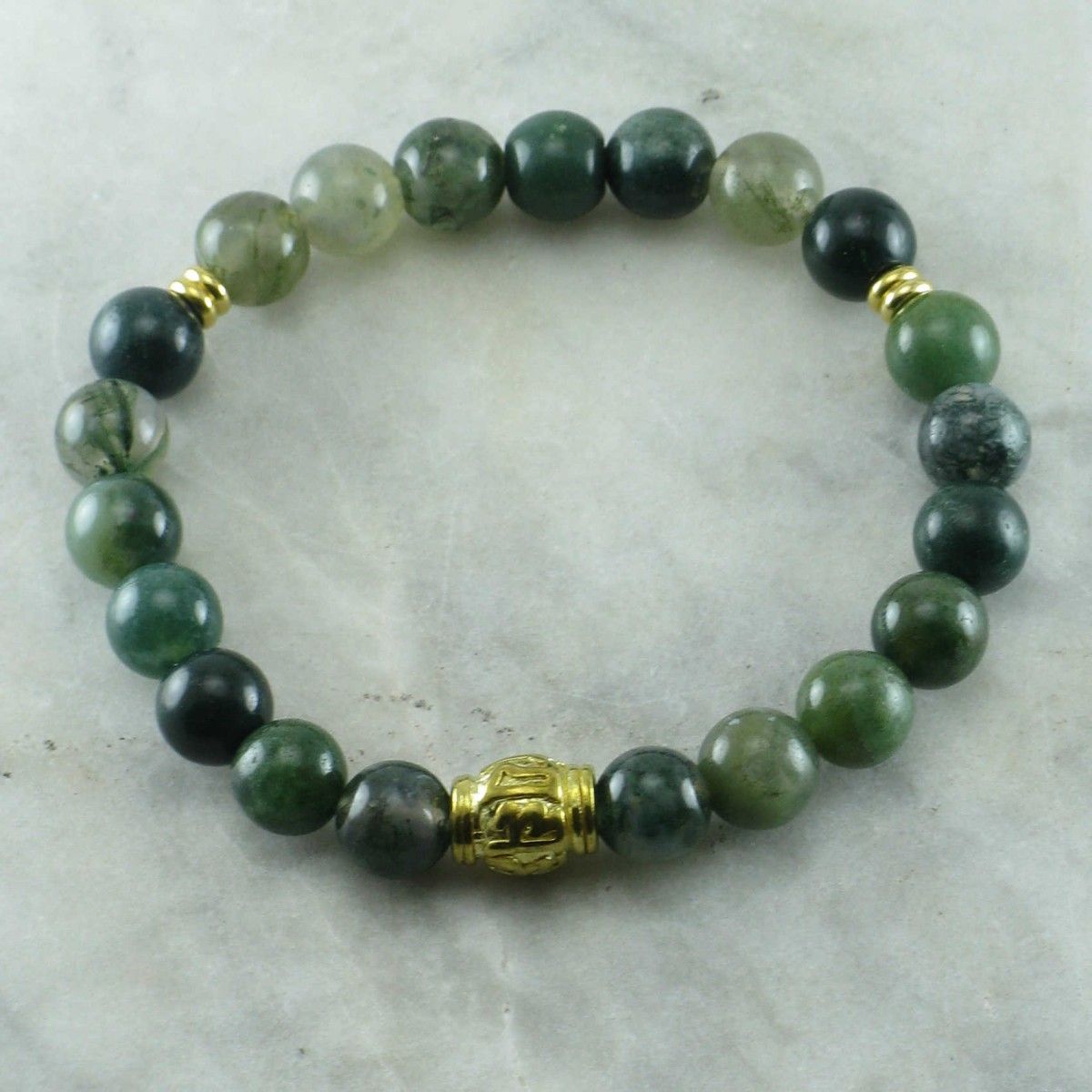 Fortune_Mala_Bracelet_21_Moss_Agate_Mala_Beads_OM_Mani_Padme_Hum_Ayurvedic_Vata