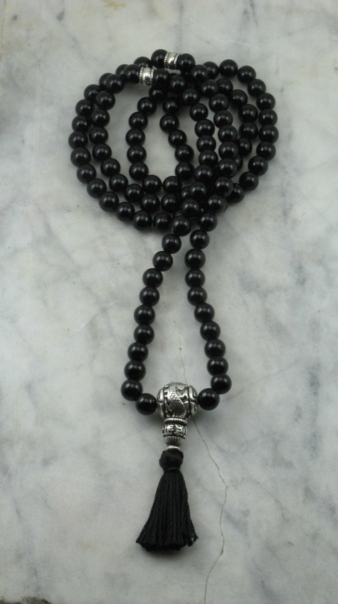 Dragon_Custom_Mala_108_Black_Onyx_Mala_Beads