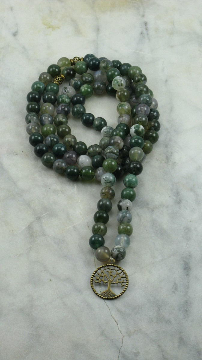 Dryad_Mala_Necklace_108_Moss_Agate_Mala_Beads_Buddhist_Prayer_Beads