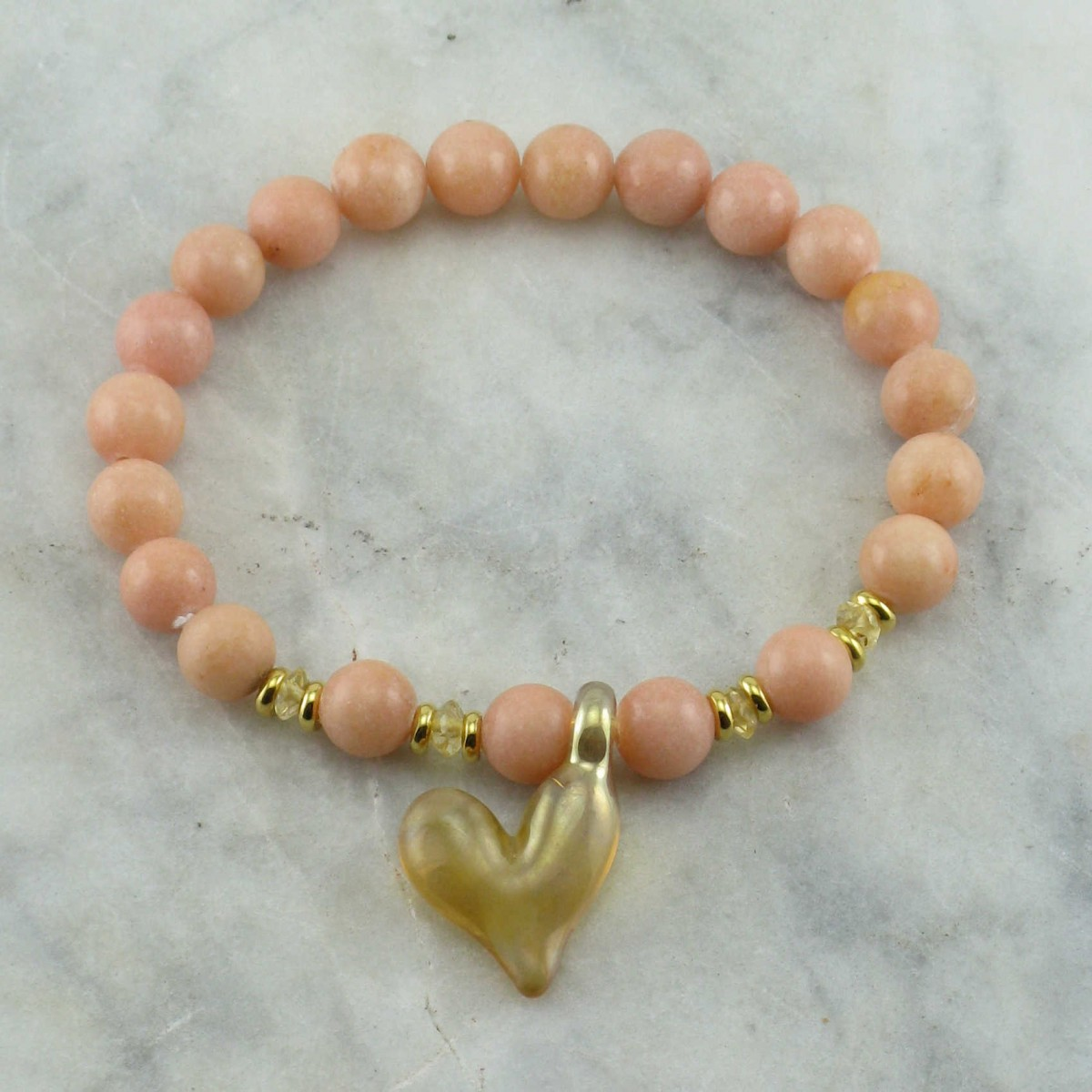 Heart_Of_Gold_Mala_Bead_Bracelet_21_Tangerine_Quartz_Mala_Beads_Buddhist_Prayer_Beads_Wrist