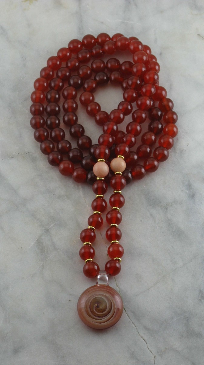 Passion_Mala_Necklace_108_Carnelian_Mala_Beads_Buddhist_Prayer_Beads