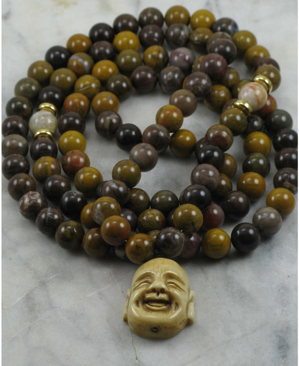 Custom_Mala_Necklace_108_Wood_Agate_Mala_Beads_Buddhist_Prayer_Beads