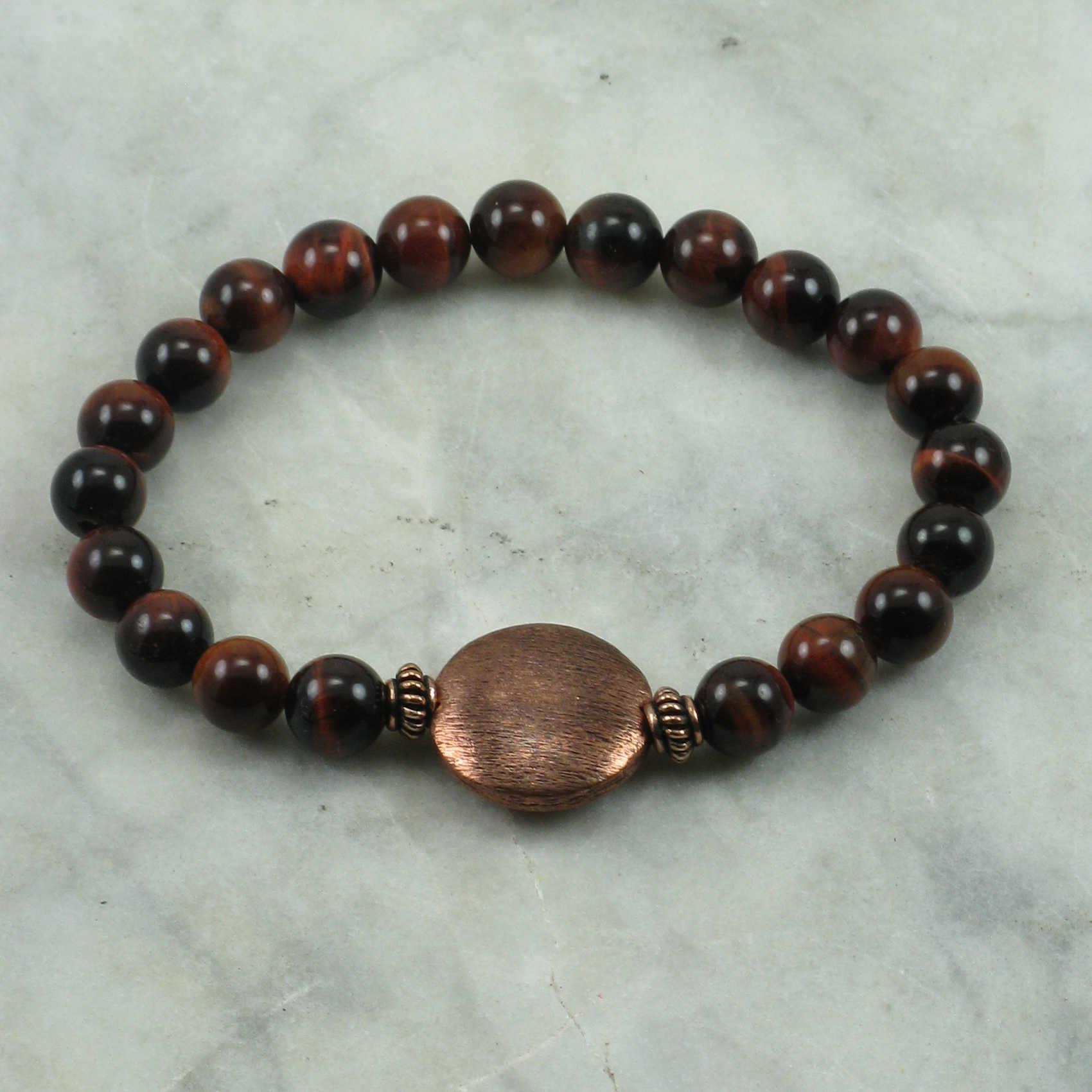 Tiger eye buddhist meditation beads