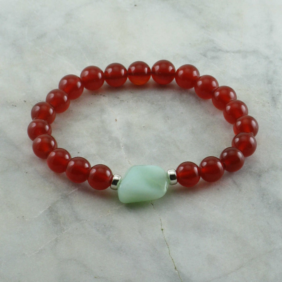 Healing_Mala_Bracelet_21_Carnelian_Mala_Beads_Buddhist_Bracelet