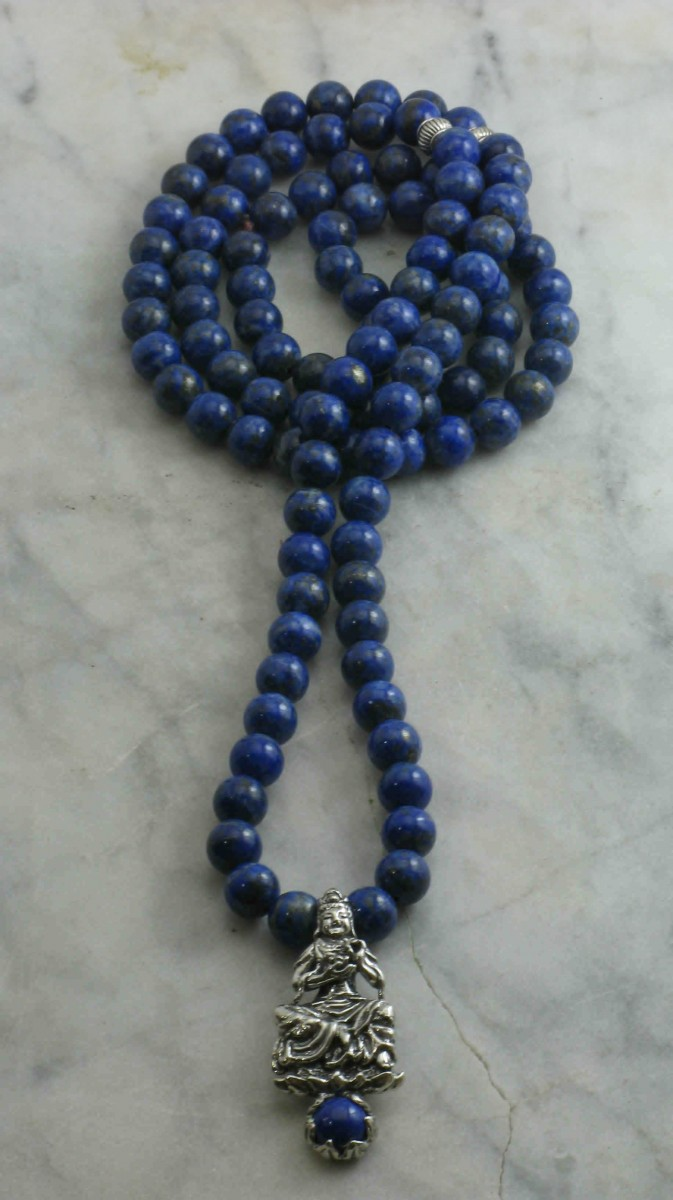 Kwan_Yin_Mala_Necklace_108_Lapis_Lazuli_Mala_Beads_Buddhist_Prayer_Beads_Meditation