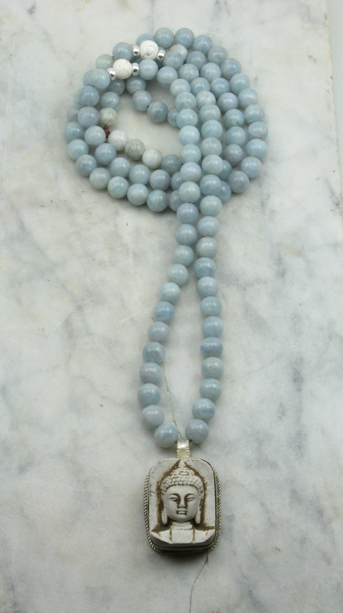 Serenity_Mala_Necklace_108_Aquamarine_Mala_Beads_Buddhist_Prayer_Beads