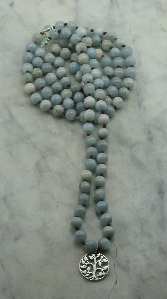 Winter_Knotted_108_Aquamarine_Mala_Beads_Buddhist_Prayer_Beads