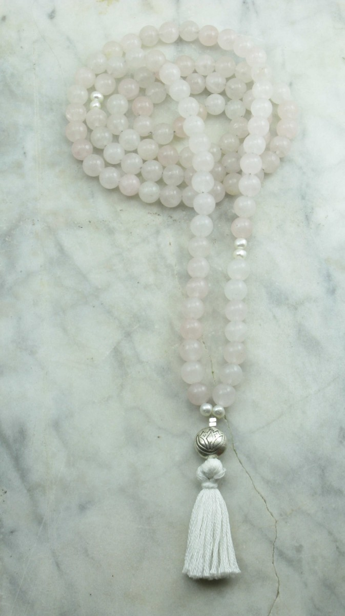 Lotus_Mala_Beads_108_Rose_Quartz_Mala_Beads_Buddhist_Prayer_Beads