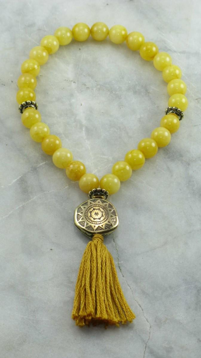 Sunrise_27_Wrist_Mala_Mala_Beads_Buddhist_Prayer_Beads_Buddhist_Bracelet