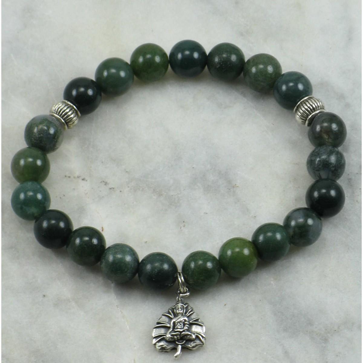 Contemplation_Mala_Bracelet_21_Moss_Agate _Mala_Beads_Buddhist_Bracelet