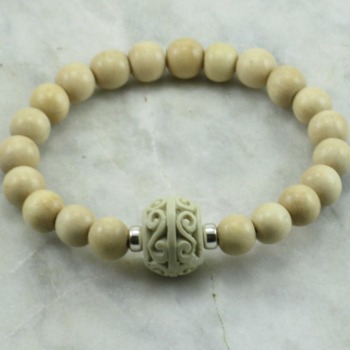 Peace_Mala_Bracelet_21_Wood _Mala_Beads_Buddhist_Bracelet