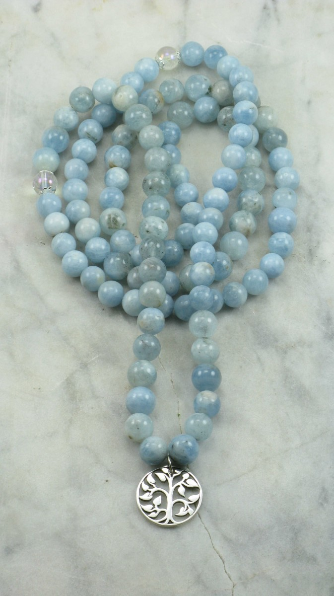 Winter_Mala_Necklace_108_Aquamarine_Mala_Beads_Buddhist_Prayer_Beads