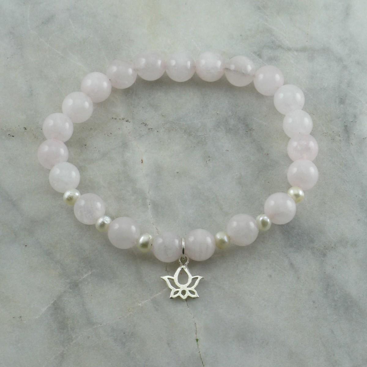 Lotus_Mala_Bracelet_21_Rose_Quartz_Mala_Beads_Buddhist_Bracelet