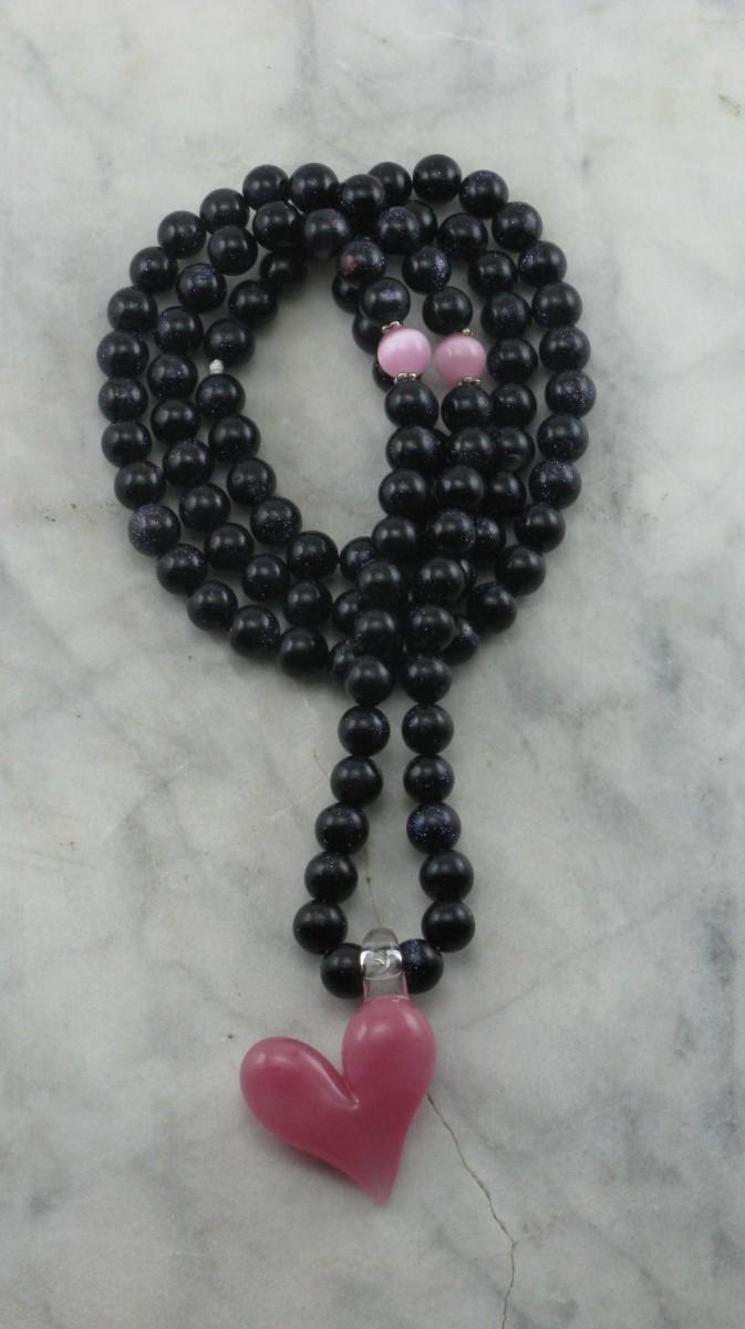 Sweet_Candy_Mala_Necklace_108_Blue_Goldstone_Mala_Beads_Buddhist_Prayer_Beads