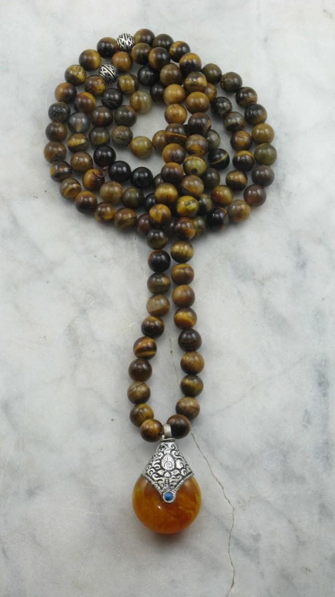 Balance_Mala_Necklace_108_Tiger_Eye_Mala_Beads_Buddhist_Prayer_Beads