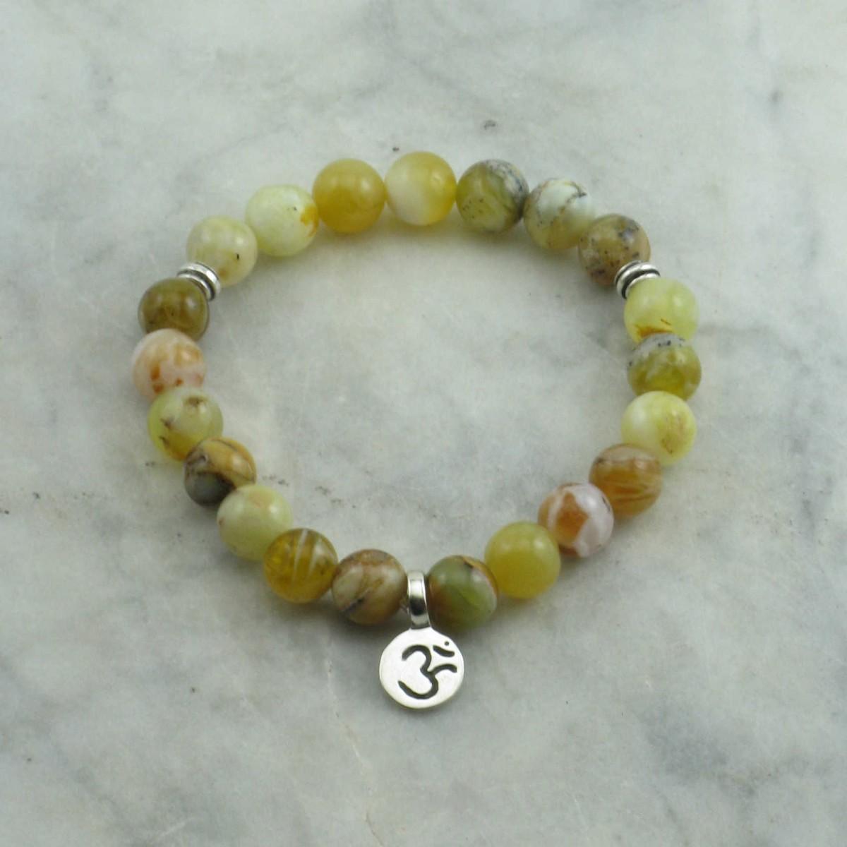 Crown_Chakra_Mala_Bracelet_21_Common_Opal_Mala_Beads