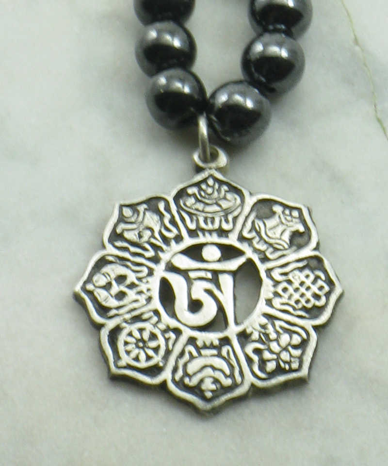 shop necklace thezenmuse boho zen yoga sterling etsy on silver jewelry savings buddhist mandala new