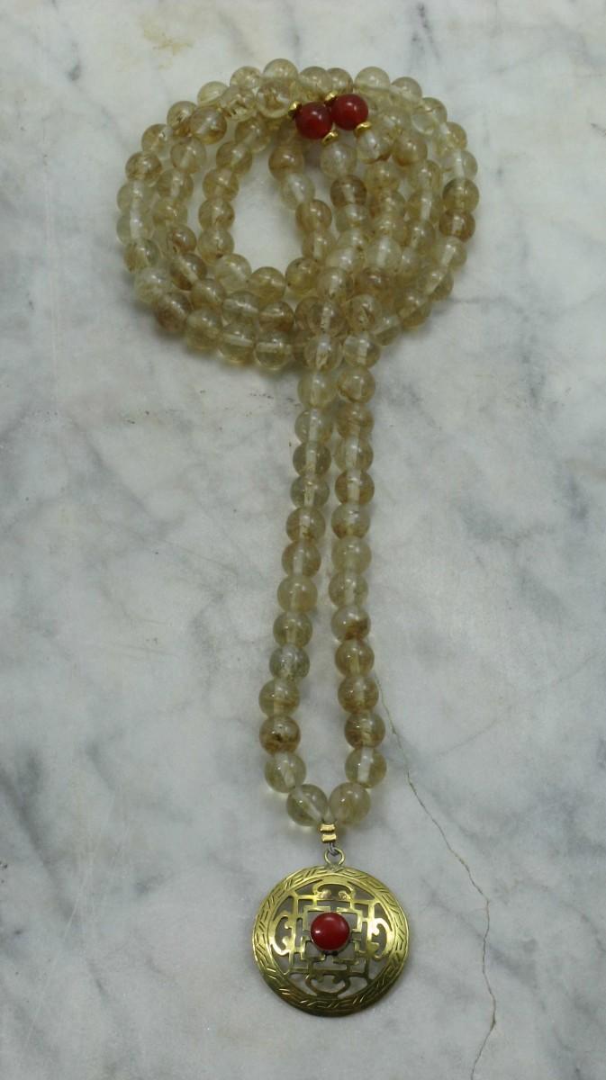 Intuition_Mala_Necklace_108_Rutile_Quartz_Mala_Beads_Buddhist_Prayer_Beads