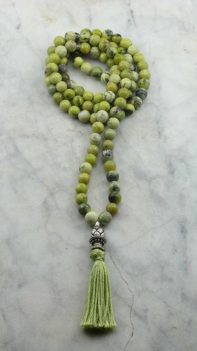 Tender_Shoots_Mala_108_Yellow_Turquoise_Mala_Beads