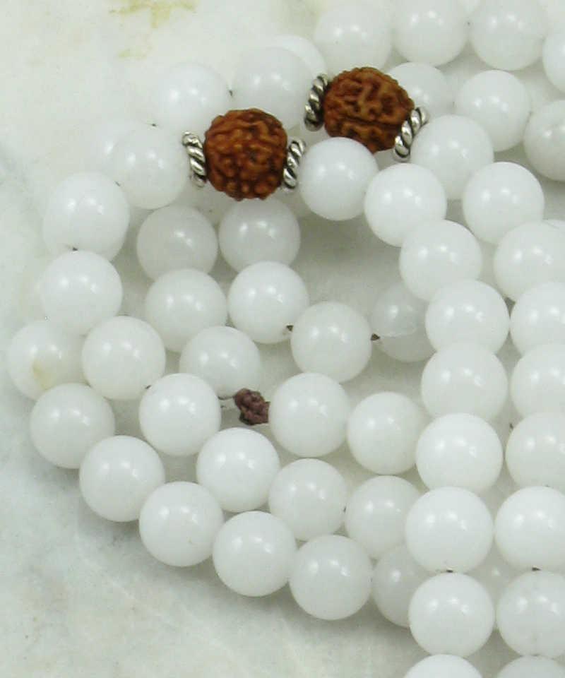 Bala Mala Necklace   108 mala beads for men