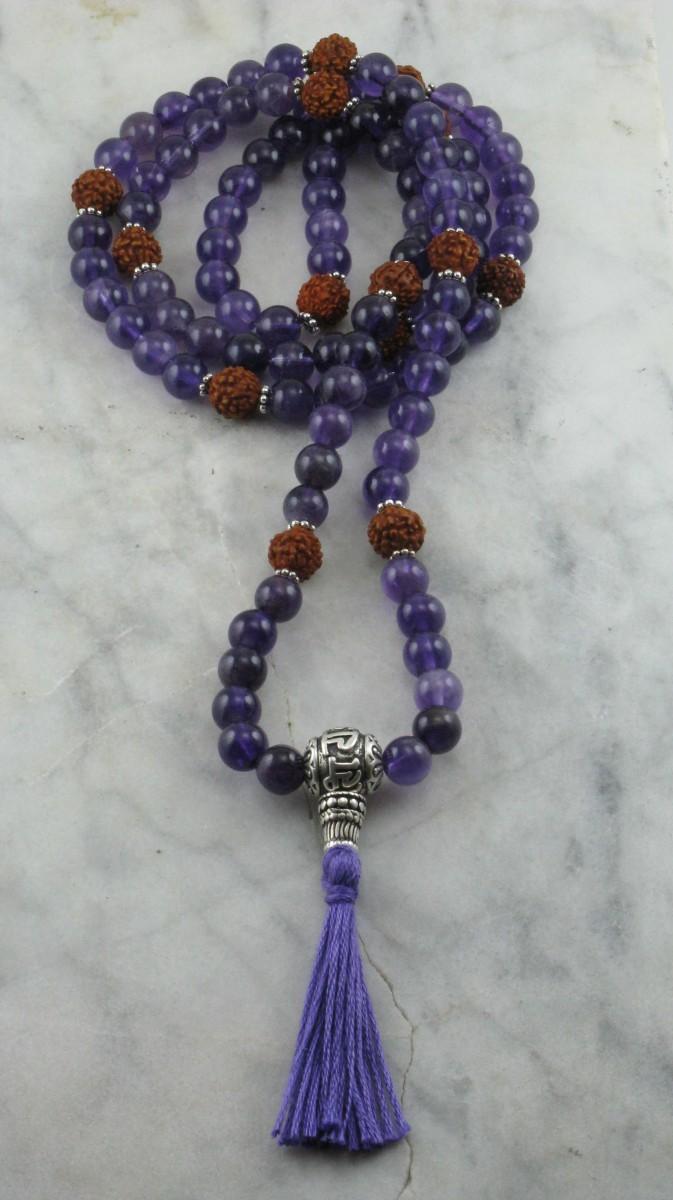 Devotion_Sanskrit_Amethyst_Rudraksha_Mala_Beads