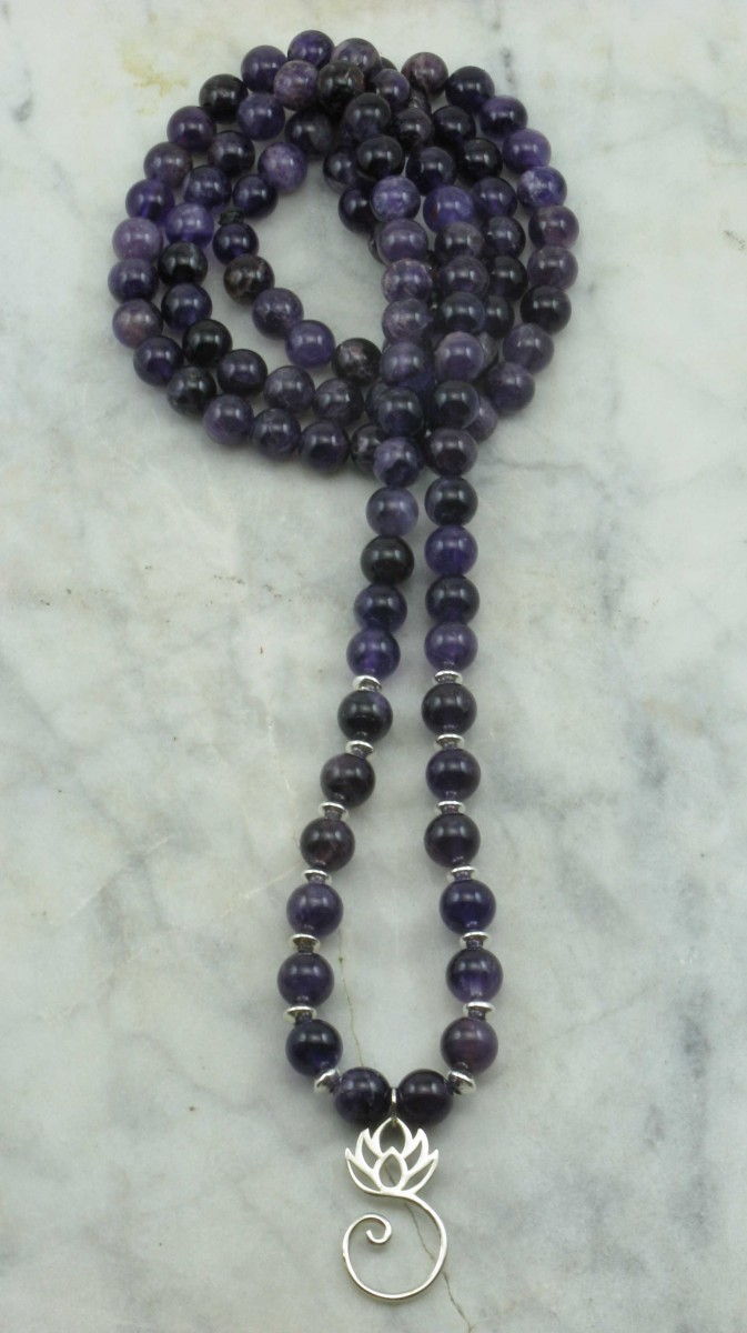 Wellness_Mala_Necklace_108_Amethyst_Mala_ Beads