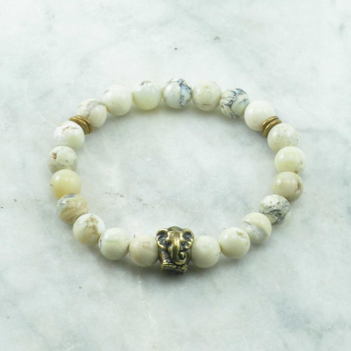 Elephant_Mala_Beads_White_Opal_Mala_Bracelet