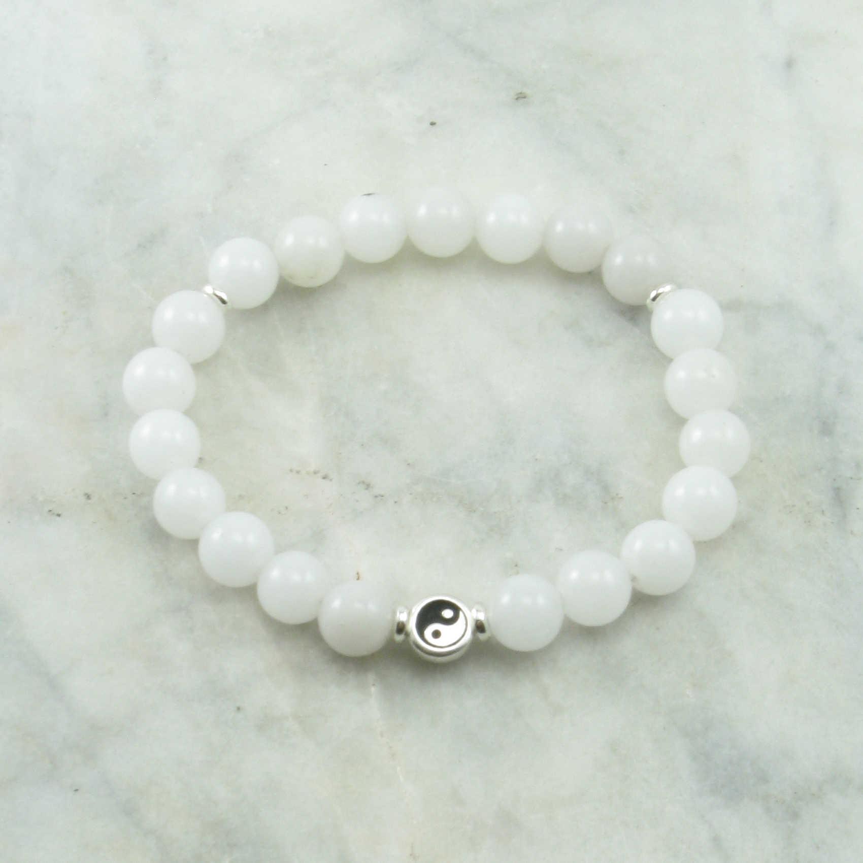 Yin Yang Mala Bracelet
