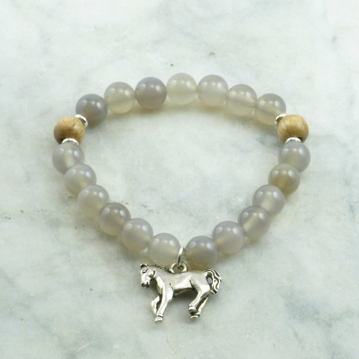 Wind_Horse_Mala_Bracelet_21_Grey_Agate_Mala_Beads_Buddhist_Bracelet