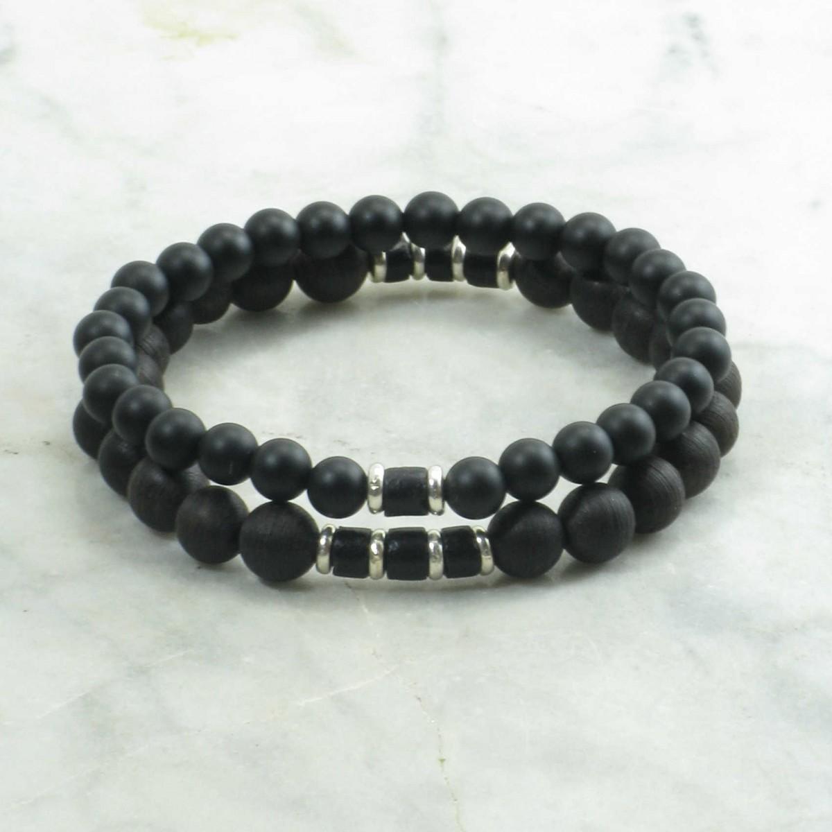 Zen_Bracelets_for_Men_Mala_Beads_Stacks_Agarwood_Agate_Buddhist_Prayer_Beads