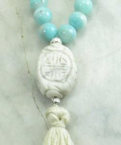 Ashrays_Mala_Beads_108_Amazonite_Buddhist_Prayer_Beads_Guru
