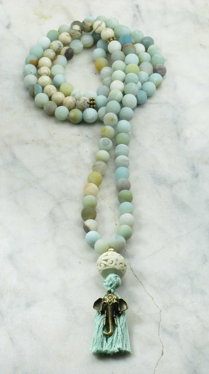 Tabithas_Dream_Mala_Beads_108_Amazonite_Opal_Mala_Beads_Buddhist_Prayer_Beads