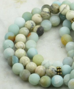 Tabithas_Dream_Mala_Beads_108_Amazonite_Opal_Markers_Buddhist_Prayer_Beads