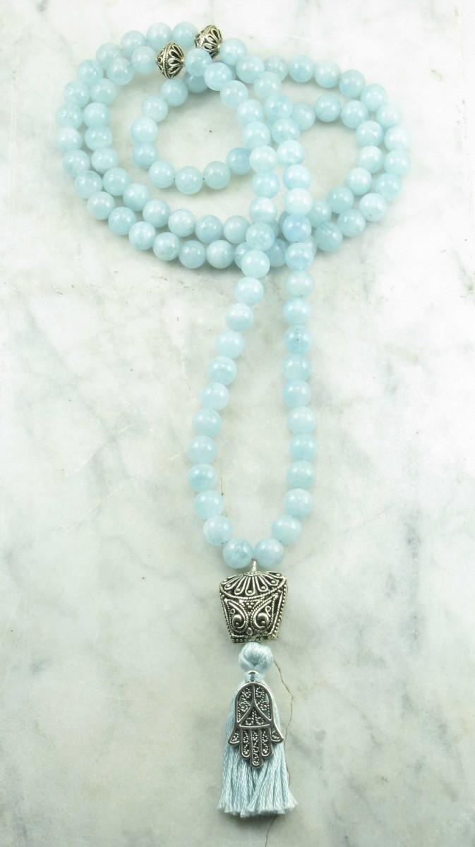 Mudra_Mala_Beads_108_Aquamarine_Mala_Beads_Buddhist_Prayer_Beads