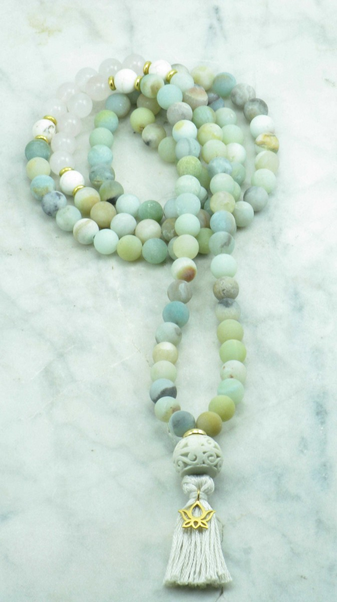 Alchemy_Mala_108_Amazonite_Rose_Quartz_Mala_Beads_Buddhist_Prayer_Beads