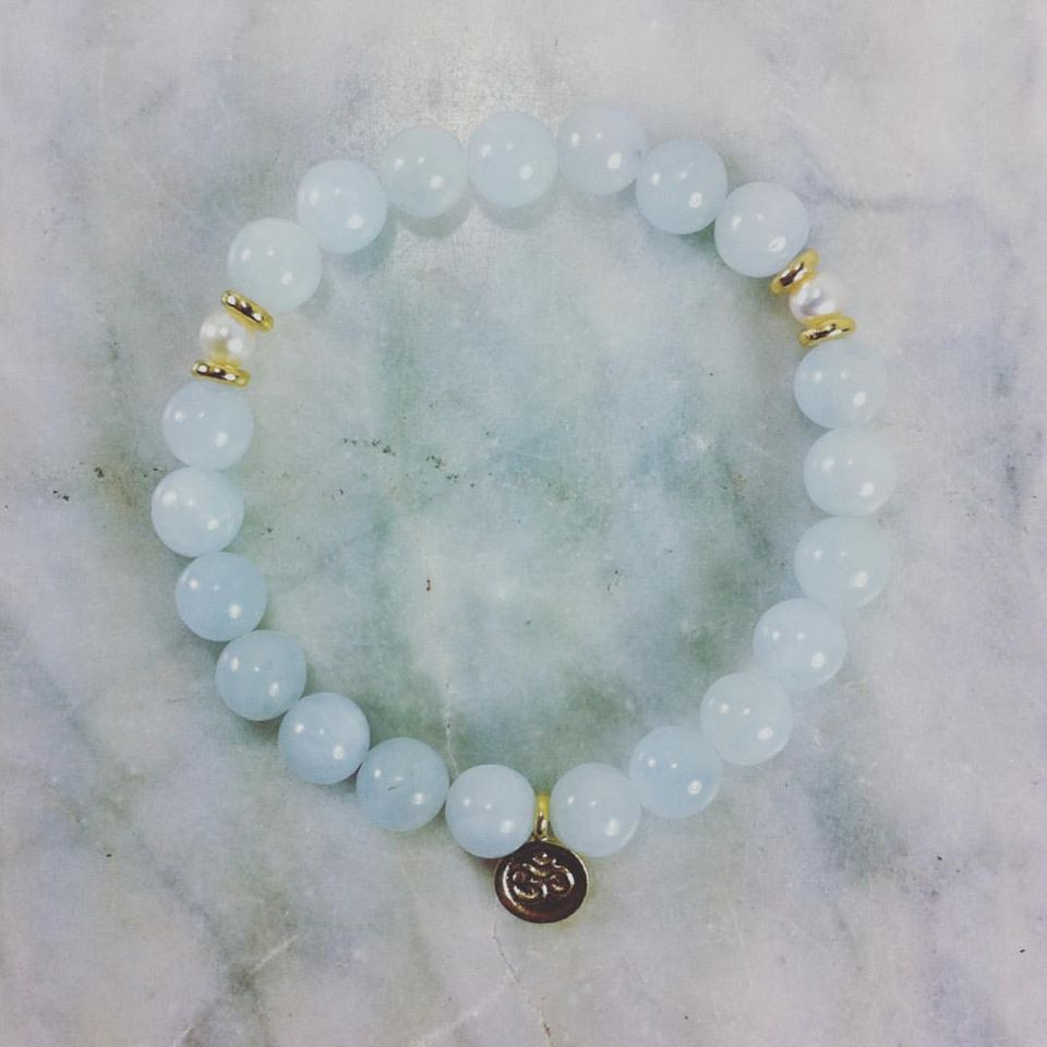 Mala beads for calmness, serenity, and inner knowing