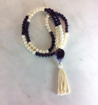 pearl mala beads