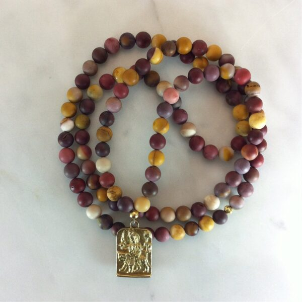 jasper mala beads