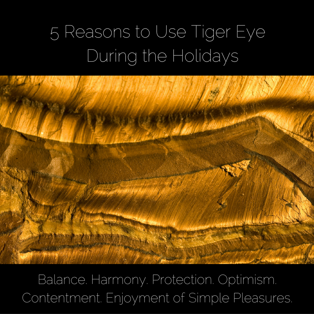 Tiger Eye Gemstones for the Holidays