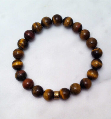 tiger eye mala bracelet for men