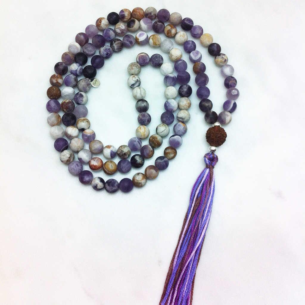Mala Beads 108 Malas Prayer Beads Yoga Jewelry From