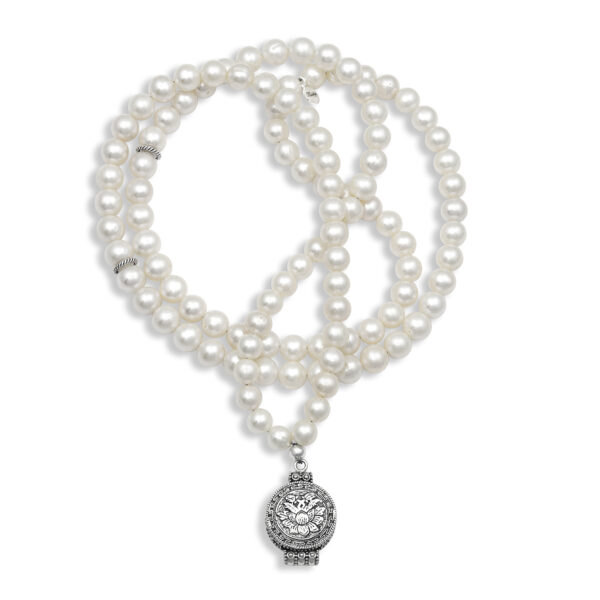 pearl mala necklace